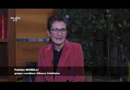 Embedded thumbnail for 27 dicembre 2019 Patrizia Morelli Alliance Valdôtaine
